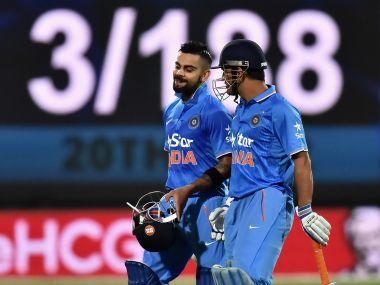 Virat Kohli's 55-ball 90 earned him the Man of the Match award. Getty