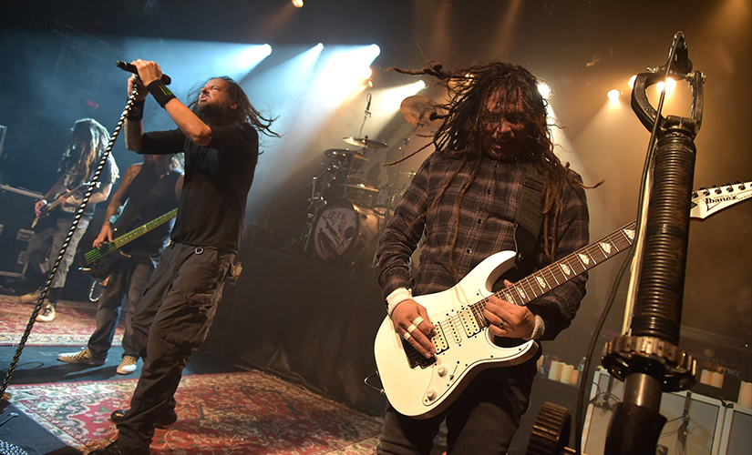 File image of KoRn. Getty Images