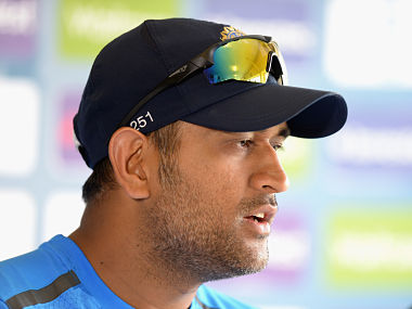 MS Dhoni. Getty