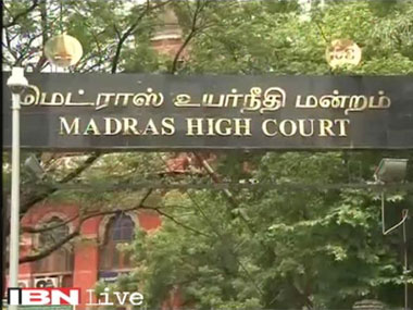 Madras High Court. Image courtesy ibnlive