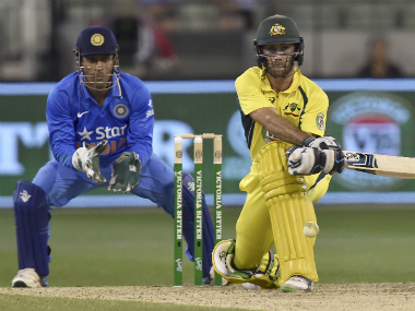 Glenn Maxwell fell just short of a century in a match-winning innings at MCG. AFP