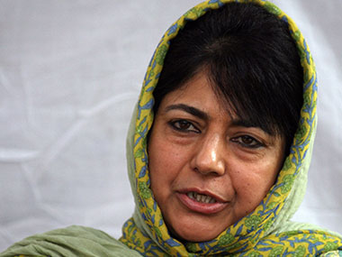 Mehbooba Mufti is tipped to take over in J&K but no word yet from PDP, BJP