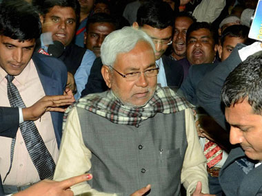 Nitish Kumar in a file photo. PTI