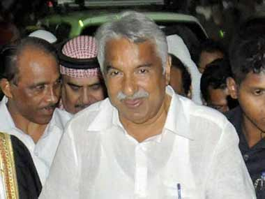 File image of Kerala CM Oommen Chandy. PTI