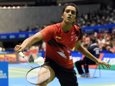 PV Sindhu  in a file photo. AFP