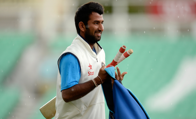 """""""The best tip came from Dravid bhai. He told me nothing was wrong with my technique, that so far I had been successful because of my technique. So I shouldn't doubt it and keep playing. He had seen me bat and said he couldn't figure out anything wrong. So I kept batting the way I was and worked hard in the nets,"""" says Pujara. IBNLive"""
