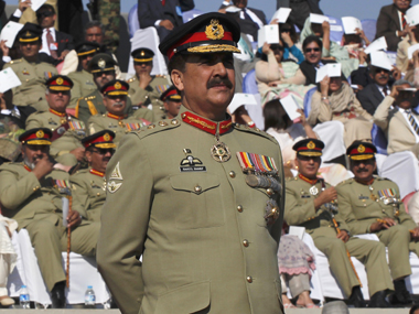 File photo of Raheel Sharif. Reuters