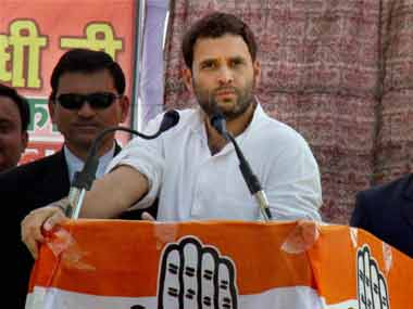 Rahul Gandhi in a file photo. PTI