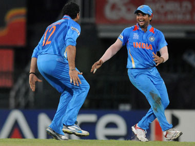Suresh Raina and Yuvraj Singh made their comebacks to Indian side in Adelaide. Getty