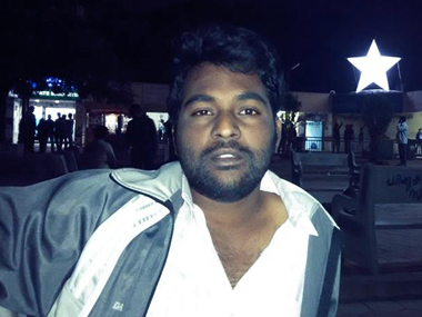 Rohith Vemula. Image courtesy: Facebook