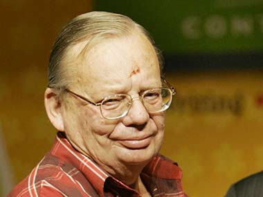 File photo of Ruskin Bond. AFP