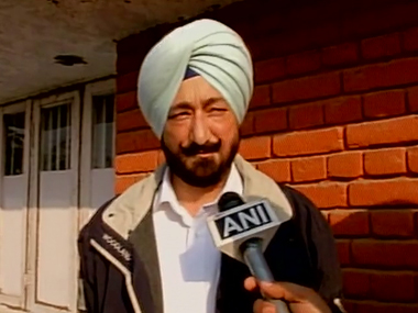 Salwinder Singh in a file photo. @ANI/Twitter