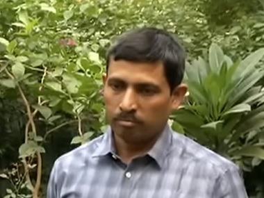 Tamil Nadu Indian Forest Services officer Sampat Lal Gupta. Screen grab from YouTube