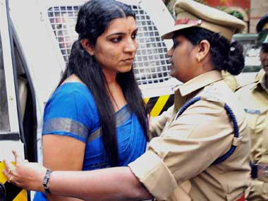 File image of Saritha Nair. PTI
