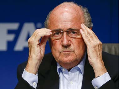 File picture of Sepp Blatter. Reuters