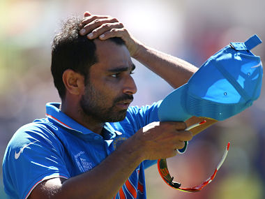 File picture of Mohammed Shami. Getty