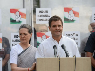 Sonia and Rahul Gandhi. File photo. AFP