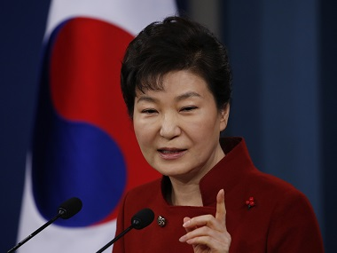 South Korea's President Park Geun-hye. AFP