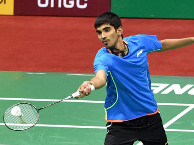 File picture of Kidambi Srikanth. PTI