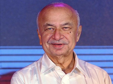 Sushil Kumar Shinde in a file photo. AFP