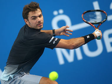 File picture of Stan Wawrinka. AFP