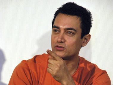 Aamir Khan. File photo Reuters