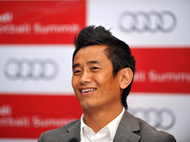 File photo of Baichung Bhutia. AFP