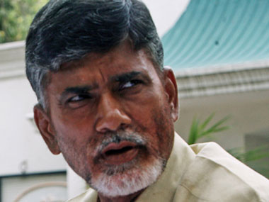 File image of Chandrababu Naidu. IBNLive