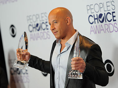Vin Diesel at People's Choice Awards, 2016