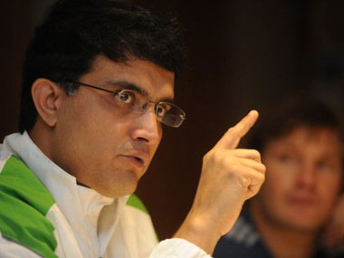 File photo of Sourav Ganguly. AFP