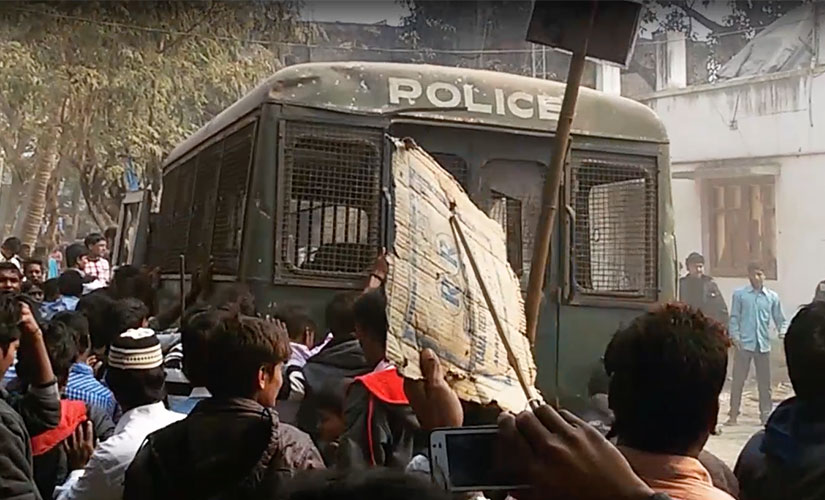 Riots in Malda. Firstpost/Sanjay Pandey
