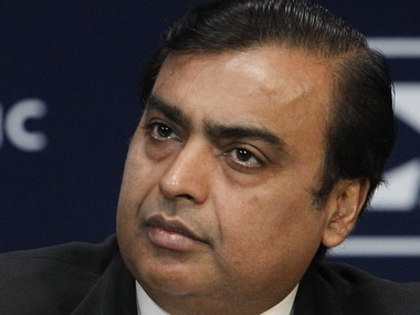 Mukesh Ambani, Chairman and Managing Director of Reliance Industries. Reuters