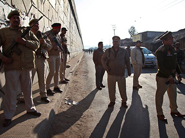 File image of the Pathankot attack. AP