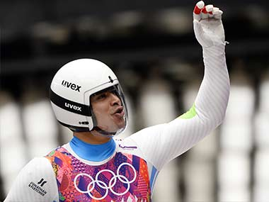 File photo of Shiva Keshavan. AFP