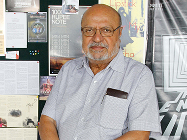 Shyam Benegal. File photo. Solaris images