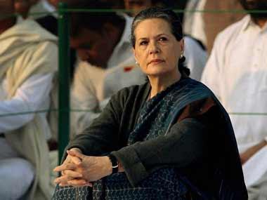 Sonia Gandhi. PTI