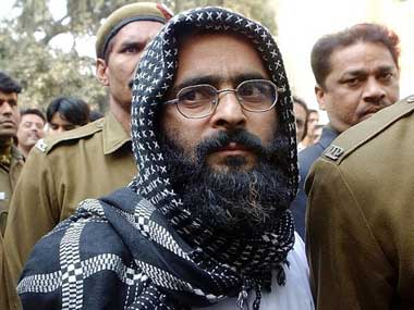 Afzal Guru. File photo. AFP