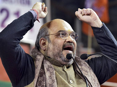 Buoyant Amit Shah sets all-important 2017 UP election as  BJP's next target