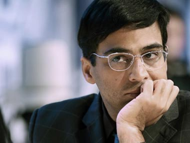 File picture of Viswanathan Anand. AFP