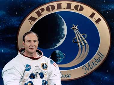 Apollo astronaut Edgar Mitchell is seen in an undated picture released by NASA. Reuters
