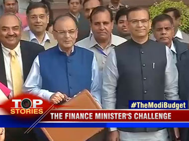 India's accounts locked in an attache. Image courtesy CNN-IBN