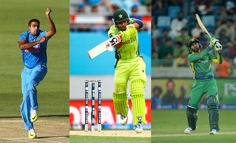 How Umar Akmal and Shoaib Malik tackle R Ashwin will prove crucial? Getty Images