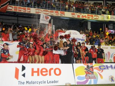CPL 2015 champions Trinidad and Tobago will sport a new look in 2016. Image: CPLT20.com