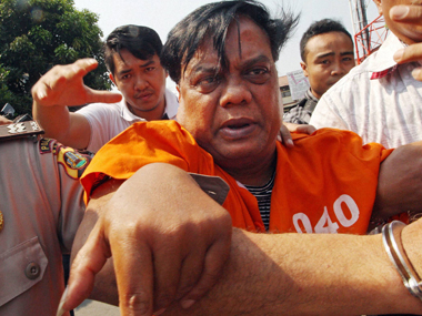 Chhota Rajan. File photo. PTI