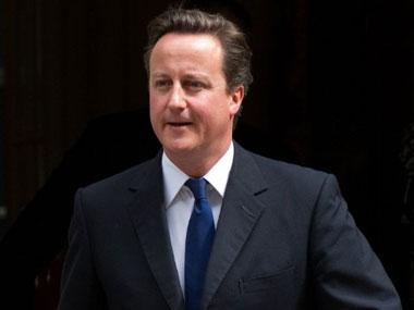 File photo of David Cameron. AP