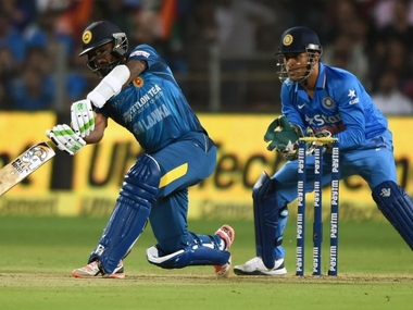 File image from India vs Sri Lanka. AFP