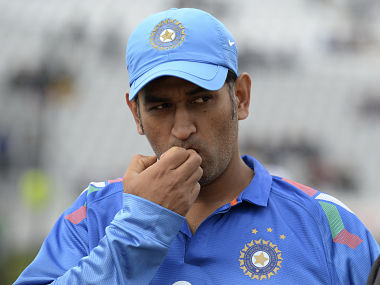 MS Dhoni. Reuters