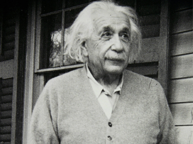 File image of Albert Einstein. AFP