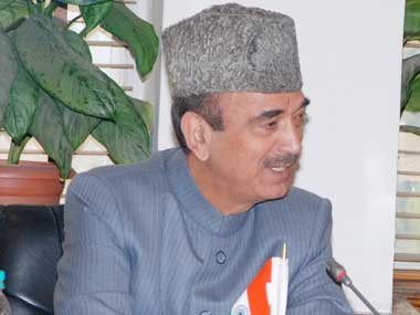 Ghulam Nabi Azad. File photo. Image courtesy: PIB