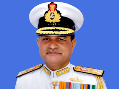 Vice Admiral HCS Bisht. Image courtesy Indian Coast Guard